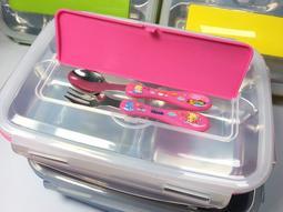 【八八八】e網購~【五格樂扣式304不銹鋼餐盒 加贈(湯匙)】NO135 兒童餐具 不鏽鋼便當盒 保鮮盒 餐盒!