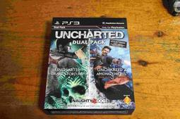 PS3 祕境探險UNCHARTED 1、2