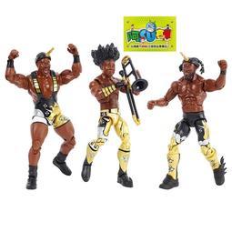 ☆阿Su倉庫☆WWE摔角 The New Day Booty-O's Elite Figures 精華版人偶3人組附禮盒