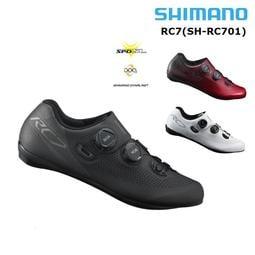『玩酷*單車瘋』全新 SHIMANO SH-RC701 公路車鎖鞋 黑/紅/白三色~寬楦版