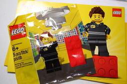 [新寶貝比的店] LEGO 樂高 5001622 專賣店 員工/店員人偶 全新未拆 Shop Employee