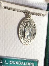 美洲的母親:聖母瓜達露佩925純銀項鍊