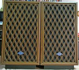 【暐欣音響-二手書坊】一對 NEC 古董老喇叭箱  + 法國 POLYDAX 喇叭