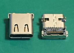 【IF】USB 3.1 TYPE C 連接器 CONNECTOR 24Pin DIP+SMD TYPE-C 板端 母座