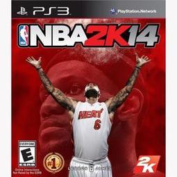 PS3菜鳥要上學~亞版全新品--NBA 2K14(中文版) ~下標免運費