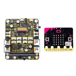《iCshop1》MbitBot多功能板 + micro:bit●368040500042●microbit