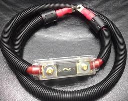 ~電力強化工程~0AWG渦輪強化專用發電機正極強化線組+負極接地線~量身訂作~省油+馬力提升