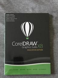 原裝正版 CorelDRAW X8 corel DRAW X8 教育版