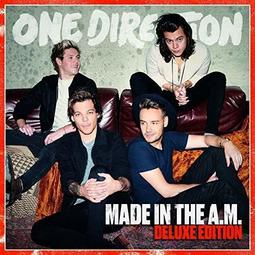 One Direction Made in the A.M. UK版