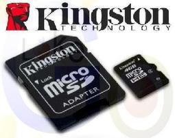 【購滿意】金士頓4G 附轉卡 kingston 宇瞻 Apacer Micro SDHC SD TF 讀卡機 16G/32G/行動電源 Class 4 CL4