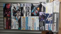 一堆zoids/死亡索拉/水戰巨龍/狂雷三角龍/白暴龍MK-II/戰鬥暴龍