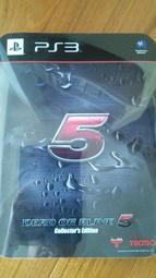 (柚子二手小舖)《PS3 生死格鬥5 鐵盒特別 中文版