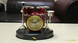風格造型 爵士鼓時鐘 Jazz Drum 全新品