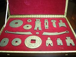 仿青銅古錢幣 - 紫砂作品