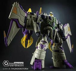 【全新現貨】變形金剛 雷翼王 Garatron GOD-01 三變 IDW Thunderstorm 現貨