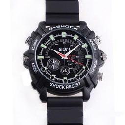 【八塊厝】正廠品W1000紅外線夜視8G手錶針孔攝影機1080P 因是公模有不同的版本 本產品保證最優