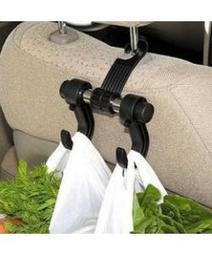 三水百貨 AC2371 車用椅背雙掛鉤  椅背雙掛勾 車內用掛鉤 後座掛勾  單支雙掛勾 椅背掛鉤