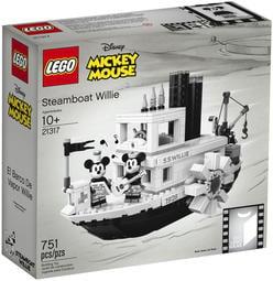 【CubeToy】樂高 21317 創意系列 迪士尼 米奇 蒸汽船 威利號 - LEGO IDEAS -