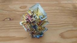 高品質精選鉍晶體 Bismuth Crystal