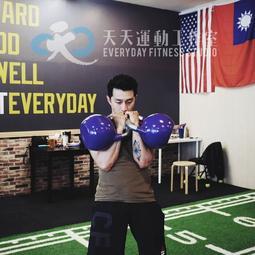 [天天運動工作室][現貨]健身健美重量訓練核心訓練-----------競技壺鈴10kg(黃)