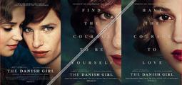 C電影酷卡明信片 丹麥女孩 The Danish Girl(一套3款)艾迪瑞德曼 艾莉西亞薇坎德 安柏赫德