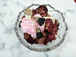 ❤婆婆貨倉❤秘密花園尊貴鑲鑽玫瑰鑰匙圈/包包吊飾