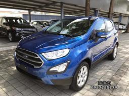 福特原廠認證中古車2018年Ford ECOSPORT 1.5 都會輕休旅 小改款 原廠認證全省原廠延長保固