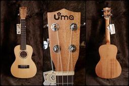 【成功樂器】UMA UK-06SC 雲杉面單板 側背奧古曼 烏克麗麗 夏威夷小吉他 附原廠袋