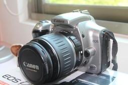 送攝影雜誌Canon佳能EOS300D 單機身 日本製女用機 可面交自取