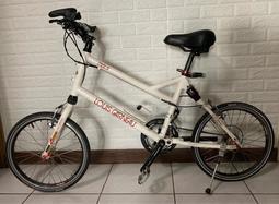 LOUIS GARNEAU MV3白色 雙避震(410)20吋 6061 鋁合金車架 腳踏車