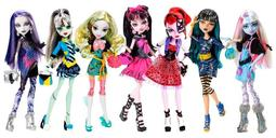 [Easyship] 	代購  Monster high picture day 精靈高中 7個一組
