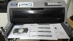 二手 點陣式列印機 列印機 EPSON LQ-690C  送六個 原廠色帶