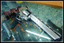 【原&型】全新 II 超商免運 WG CO2 全金屬 703型 6MM 左輪 手槍 8吋 銀色版