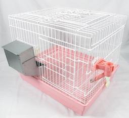 【優寵物】ACEPET皇冠優質寵物中型兔籠/天竺鼠籠NO.745附飲水器 防咬金屬飼料自動槽/寵物籠--產地:台灣-