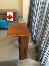 【森林原木手工家具】原木沙發邊桌、床邊桌
