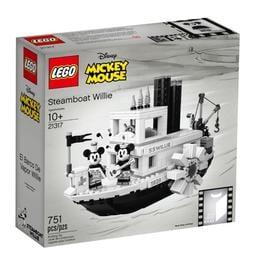 【積木樂園】樂高 LEGO 21317 迪士尼 米奇60週年限定 蒸汽船 威利號