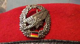 德國傘兵貝雷帽徽(公發品)