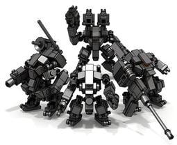 =菜菜= 現貨 一套4隻 MOC 鋼鐵人 機甲 小機甲  相容 樂拼 樂高 LEGO 鋼鐵人 積木 浩克毀滅者 星際大戰