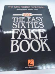 The Easy Forties Fake Book'60s 60年代歌曲樂譜(九成新)