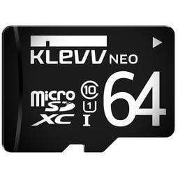 《SUNLINK》KLEVV 科賦 Micro SDHC UHS-1 64GB 記憶卡