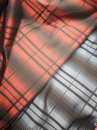 輕量防水布 雨傘布 1碼80元 門幅145公分 紅黑格紋 藍黑格紋 製作購物袋 環保袋 飲料袋 拼布材料 愛心手工材料鋪