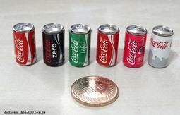 【袖珍屋】迷你金屬可樂模型(單入)(F1231A0179)