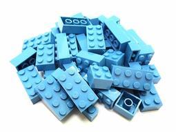 【貼心圓角FY積木】積木大師專用、與樂高相容-非樂高、MIT台灣製保證100%ABS安全無毒積木、1克1.2元(天空藍)
