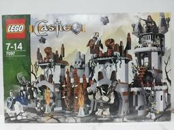 【京品四驅博士】結束營業 最後1盒 LEGO 樂高積木-7097 怪獸的山中堡壘 全新  (請先看關與我)