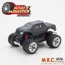 全台最專業 (現貨) KYOSHO MINI-Z MONSTER 小大腳套裝車 消光黑(30093BK)