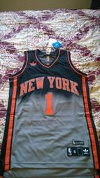 NBA adidas 紐約尼克 Amare Stoudemire SW 異色球衣 size S 全新