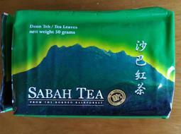 馬來西亞 沙巴紅茶 沙巴雨林紅茶 50g