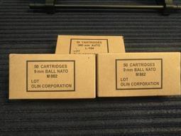 高雄麥克模型 美製50發紙彈盒 牛皮紙(美國真品) 12.5 x6.5 x3.5
