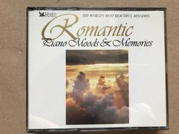 二手古典CD--Romantic Piano Moods & Memories 3CDs 讀者文摘 澳版 滿千免運費