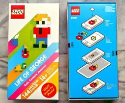 ping0513  LEGO 21200   Life of George  樂高跟平板手機的結合